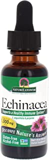 Nature's Answer Echinacea | Supports a Healthy Immune System | Non-GMO | Alcohol-Free, Gluten-Free, Vegan, Kosher Certified & No Preservatives 1oz
