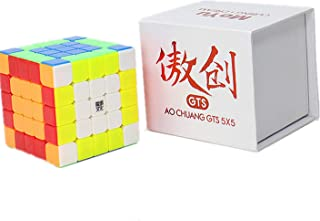 Liangcuber Moyu Aochuang GTS 5X5 Stickerless Magic Cube Moyu Aochuang gts 5x5x5 Speed Cube Puzzle