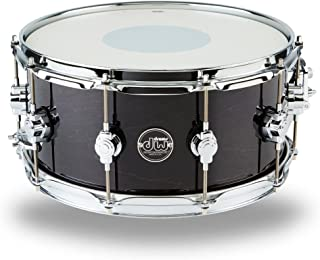 DW Performance Series Snare Drum - 6.5 Inches X 14 Inches Ebony Stain Lacquer