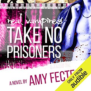 Real Vampires Take No Prisoners audiobook cover art
