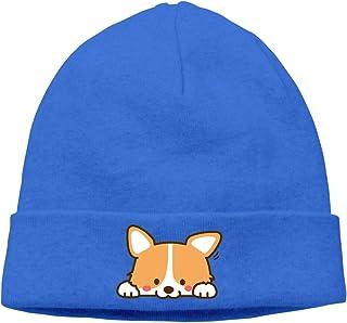 62a4dea64a3 Manlee Cartoon Dog Unisex Winter Knitting Wool Warm Hat Daily Slouchy Hats  Beanie Skull Cap