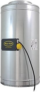 Can Fan Q-Max 250 Fan - Ventilador, 1590m³/hr,  67 x 34.5 x 38 cm, color plateado