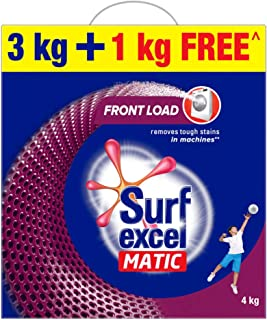 Surf Excel Matic Front Load Detergent Washing Powder, Specially Designed For Tough Stain Removal In Front Load Machines, ...