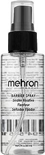 Mehron Makeup Barrier Spray (2 Ounce)