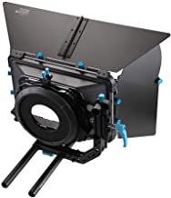 Fotga DP3000 M3 4x4 Swing-Away Matte Box for 15mm Rail Rod Follow Focus Rig Canon EOS R EOS-1D X Mark II 5D II III IV 5DS R 6D 7D II Nikon D3500 Z6 Z7 D5 D850 D90 D750 Sony A7 A7R A7S II III BMPCC 4K