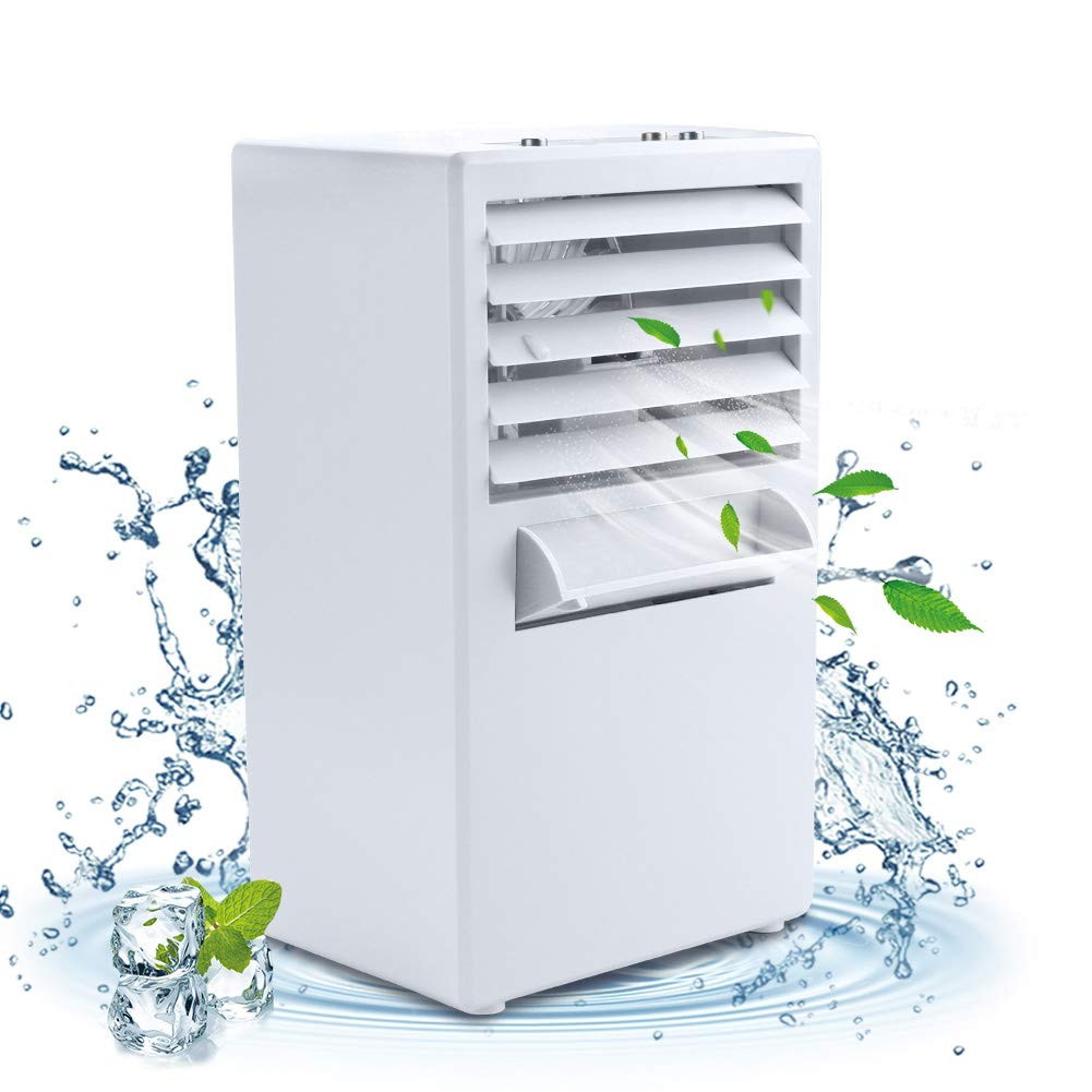 Vshow Portable Conditioner Evaporative Humidifier