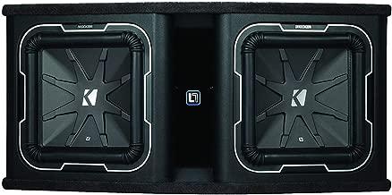 Kicker Q-Class DL712 Dual KICKER L7 12-inch Subwoofers in Vented Enclosure, 2-Ohm