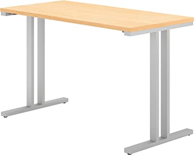Bush Business Furniture 400 Series 48W x 24D Training Table in Natural Maple