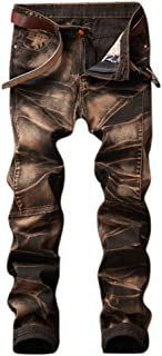 Best brown ripped jeans mens Reviews