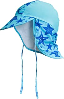 YISEVEN Kids&Baby Sun Hat UV Protection Swim Hat with Neck Flap UPF50+