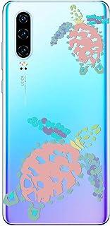Saceebe Compatible avec Huawei Honor 9X Coque Pochette Housse /Étui Cuir Ultra Mince Portefeuille Livre Coque Color/é Peint Motif Flip Case Cover /à Rabat Support Clapet Folio /Étui,Renard