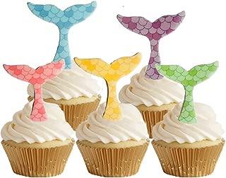 Best edible mermaid tail cupcake toppers Reviews