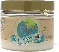 Florida Salt Scrubs, The Florida Keys in A Jar!, 8.5 Ounce, Coconut