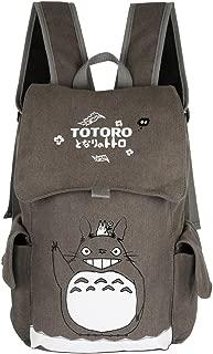 Innturt Classic Totoro Canvas Backpack Rucksack Bag School Backpack Gray