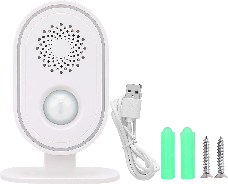 PIR Welcome Alarm Business Reminde Customer Max Seasonal Wrap Introduction 82% OFF Statistics Doorbell