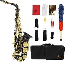 Ammoon LADE Eb E-Flat - Botones para saxofón alto (latón,