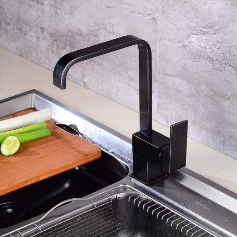Lddpl Wasserhahn Neue Küchenarmaturen Küche Wasserhahn Antik Schwarz Spüle Wasserhahn Einhand Hoch Auslauf Waschbecken Mischbatterie