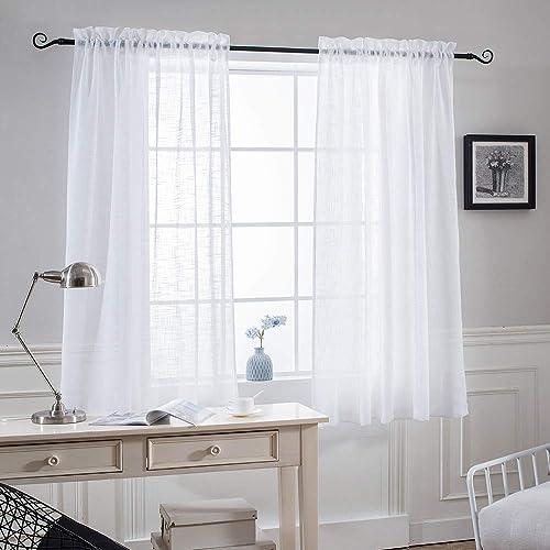 Curtains For Bathroom Window Amazoncom