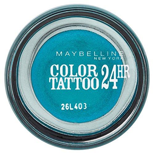 Maybelline Color Tatto 20 Turquoise Forever - sombras de ojos (Azul, Turquoise Forever, Brillo, Italia)