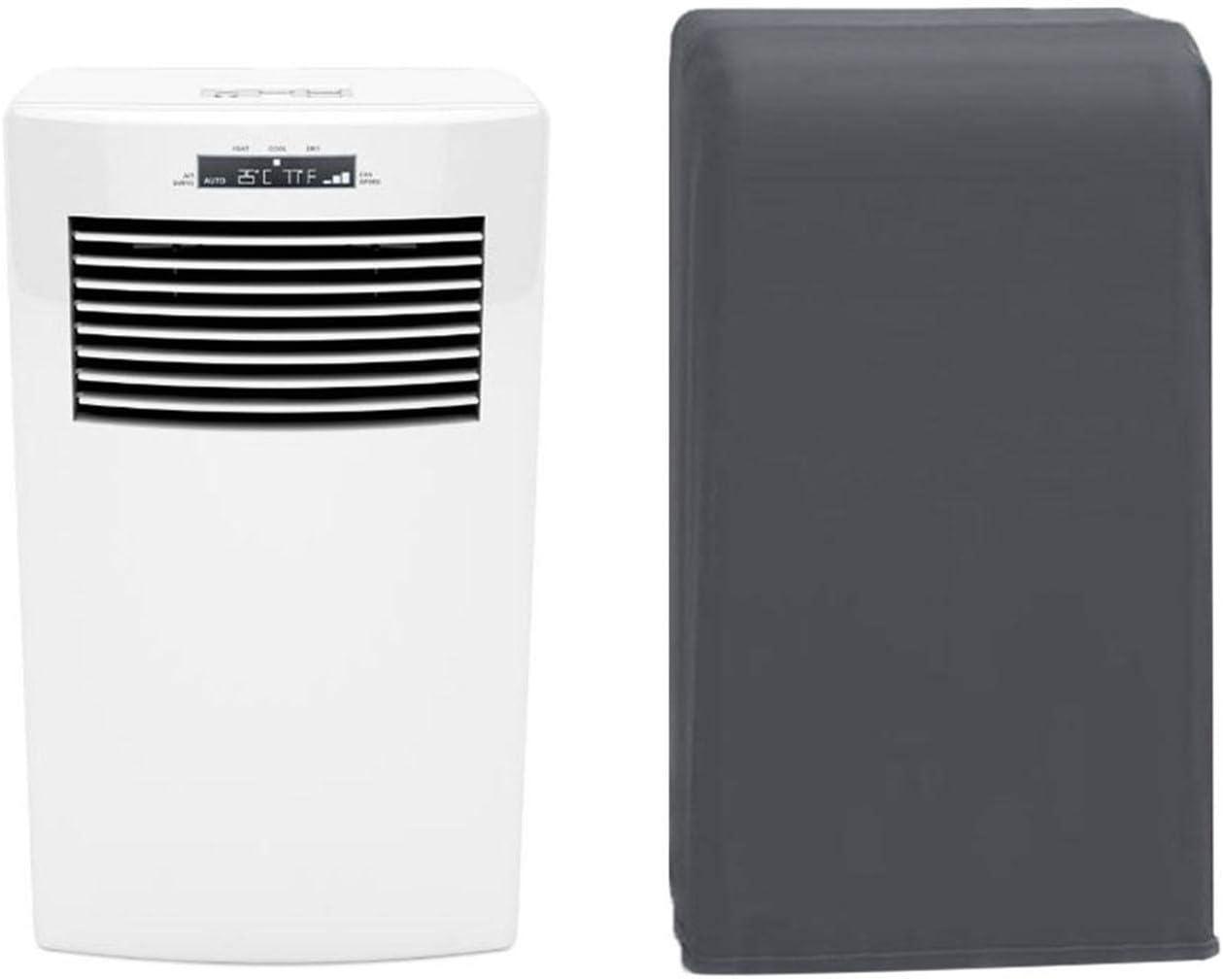 Cubierta de aire acondicionado, cubiertas de aire acondicionado para unidades interiores, 9.84 13.78 0.39in Cubierta protectora flexible para ventilador en sala de estar y dormitorio