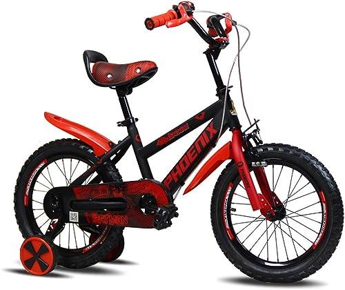 producto de calidad Bicicletas Infantiles Infantiles Infantiles Niños Elegantes para Niños y Niños Niños de triciclos para Niños Niños de Color para Niños (Rojas)  barato y de alta calidad