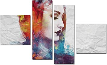Mural Painting,Unframed,4 Pieces,B1006013