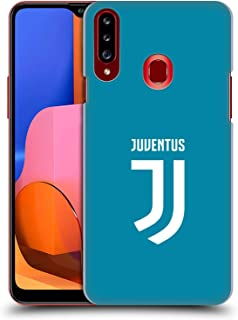 Official Juventus Football Club Home Goalkeeper 2017/18 Race Kit Hard Back Case Compatible for Samsung Galaxy A20s (2019)