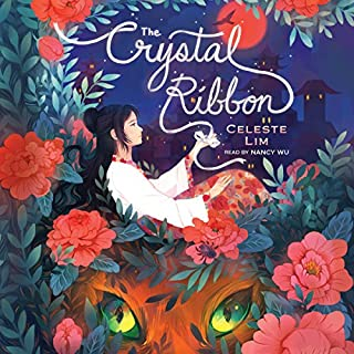 The Crystal Ribbon audiobook cover art