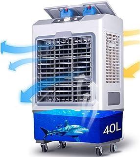 Thole Enfriador Aire MóVil Mini Ventilador Aire Acondicionado Enfriamiento Solo para Industrial/Comercial/DoméStico 3 Velocidades 40l