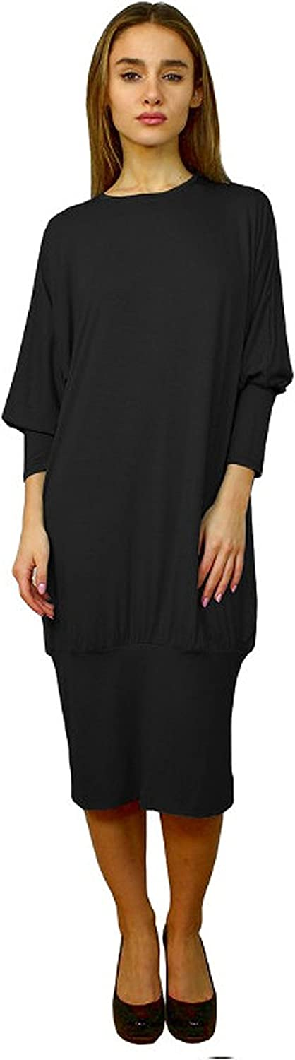 Baby'O Women's Banded Bottom Comfy Dress