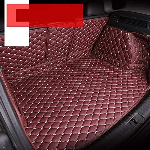 En forma Fit for Volkswagen VW Golf 7 7.5 MK7 Durable Mat tronco de la cola de línea de carga trasera Box Alfombras Cobertura Total Car Styling, coche dedicado esteras tronco Forro de maletero Cargo M