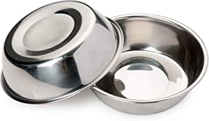 Bonza Two-Piece Replacement Stainless Steel Dog Bowls