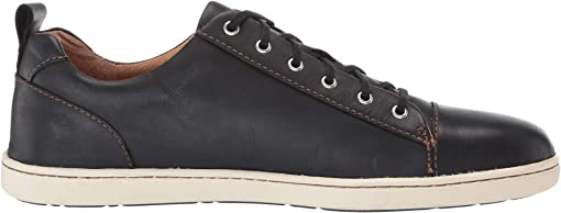 Black Full Grian Leather