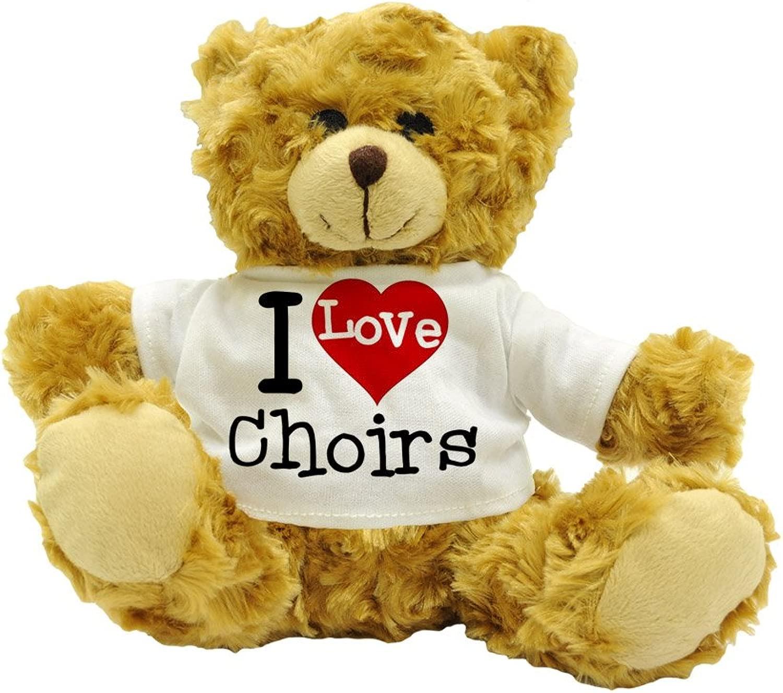 I   Choirs - Cute Plush Teddy orso Gift (20cm high Approx.)