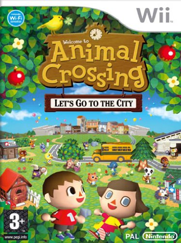 Wii - Animal Crossing Let's Go To The City - [PAL ITA - MULTILANGUAGE]