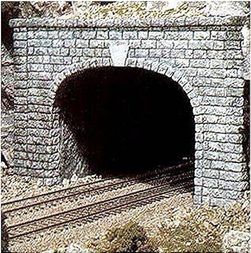 N Double Tunnel Portal, Cut Stone (2) by boisland Scenics