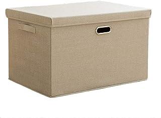 Boîtes de rangement avec couvercles et poignées, cubes pliables Boîtes de rangement Boîtes de rangement Conteneurs Tiroirs...
