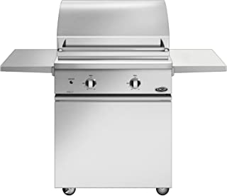DCS Series 7 Traditional 30-inch Natural Gas Grill On Css Cart With Two Side Shelves - Bgc30-bq-n