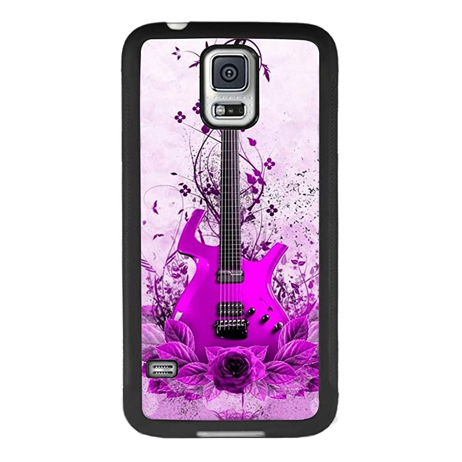 YQCi Samsung Galaxy S5 Case Shock-Absorbing Flexible Durability Defensive Protection Case for Samsung Galaxy S5 Guitar