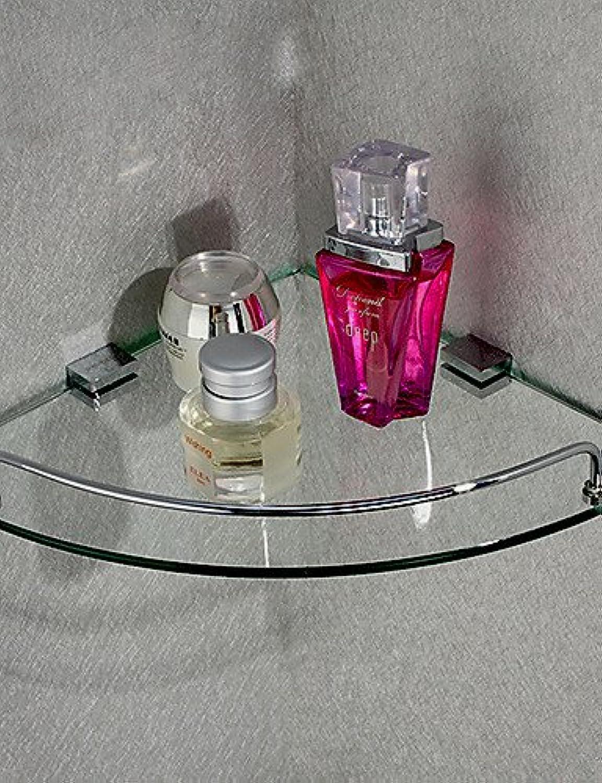 KHSKX Triangular Corner Storage Glass Shelf,10 inch x 10 inch