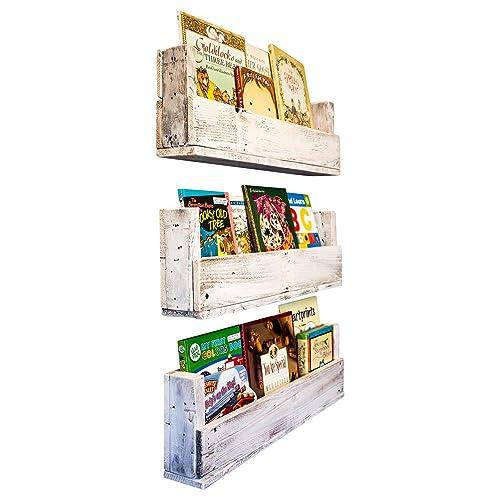 edf2210c043 Drakestone Designs Nursery Bookshelves 28 Inch (Set of 3)