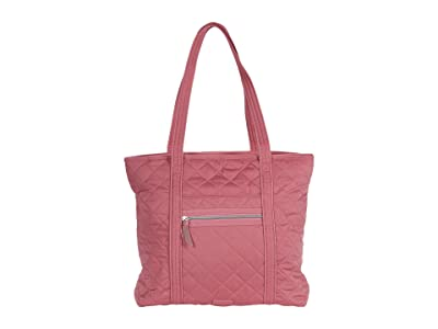 Vera Bradley Iconic Performance Twill Vera Tote (Strawberry Ice) Tote Handbags