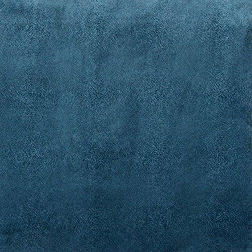 Tela de terciopelo mate, terciopelo, Petrol Blue, Sample