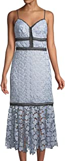 فستان دانتيل بطول الشاي للنساء من Jill Jill Stuart