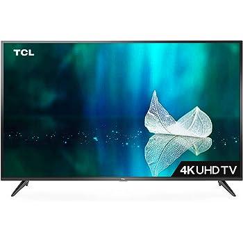 TCL 107.88 cm (43 inches) 4K Ultra HD Smart LED TV 43P65US-2019 (Black) | Built-In Alexa