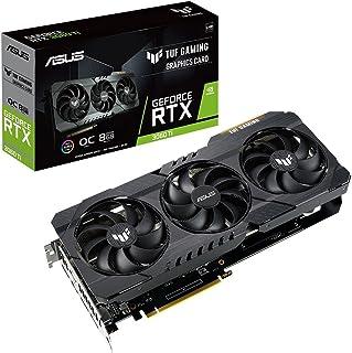 ASUSTek TUF Gaming NVIDIA GeForce RTX 3060 Ti 搭載ビデオカード / OC / PCIe 4.0 / 8GB GDDR6 / HDMI 2.1 / DisplayPort 1.4a / デュアルボール...