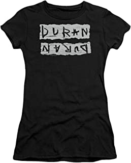 Duran Duran Print Error Women's Sheer Fitted T Shirt