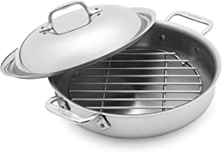 All-Clad d3 Stainless Steel Sear-and-Steam 4403182, 3 qt.