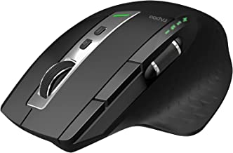 RAPOO Wireless Mouse, Multi-Device Bluetooth Mouse for Laptop, Cordless Mouse up to 3200 DPI, Rechargeable Ergonomic Mouse...