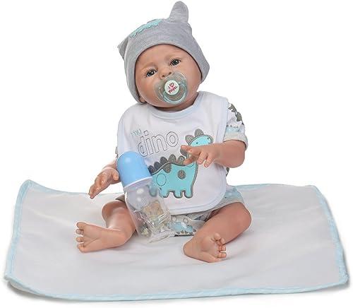 Decdeal Baby Puppe 5cm mit Haaren Inkl. Schnuller und Fl hchen